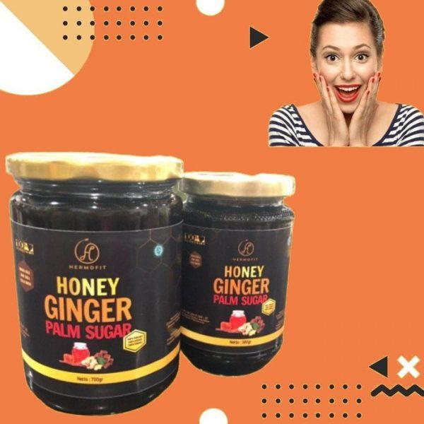 Hermofit Honey Ginger Palm Sugar 700 Gram