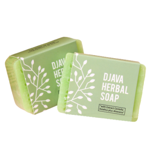 DJAVA Herbal Soap Centella Asiatica Plus Aloevera