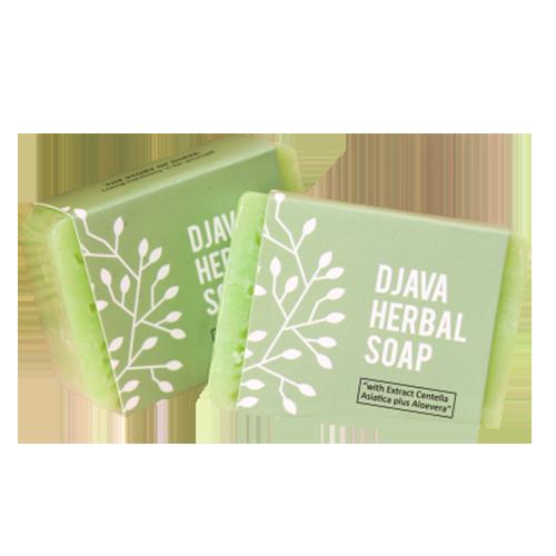 DJAVA Herbal Soap Centella Asiatica Plus Aloevera