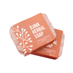 DJAVA Herbal Soap Charcoal Plus Garlic