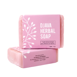DJAVA Herbal Soap Grape Plus Mixture of Spices