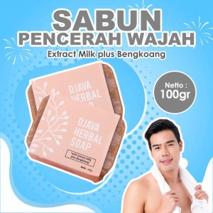 DJAVA Herbal Soap Milk Plus Bengkoang