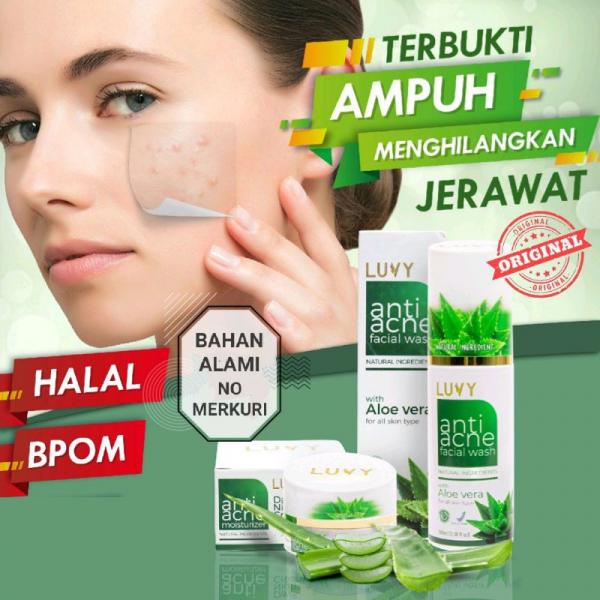 LUVY - Paket Skincare Anti Acne