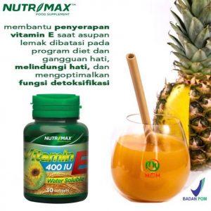 Nutrimax Vitamin E 400 IU
